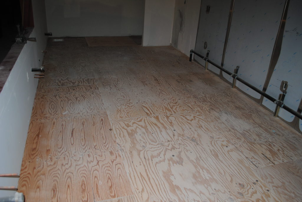 Decorative Finish To Plywood Sub Floors